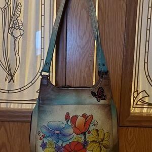 Anuschka shoulder bag purse
